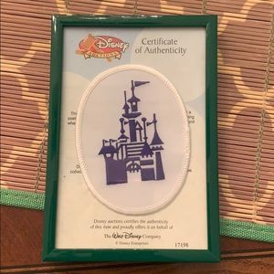 Sleeping Beauty Castle patch- collectors item